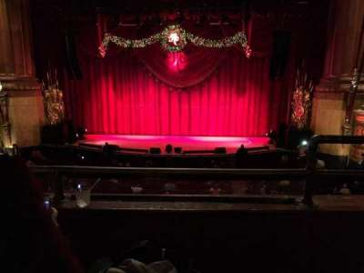 Beacon Theatre section Loge Center