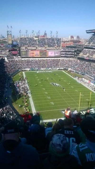 Lincoln Financial Field, section: 209, row: 16