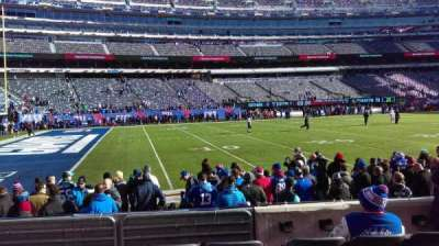 MetLife Stadium section 143