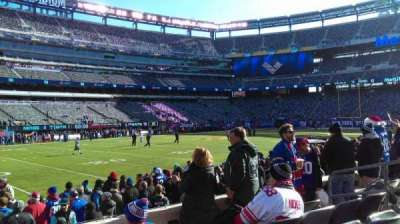 MetLife Stadium, section: 143, row: 5, seat: 8