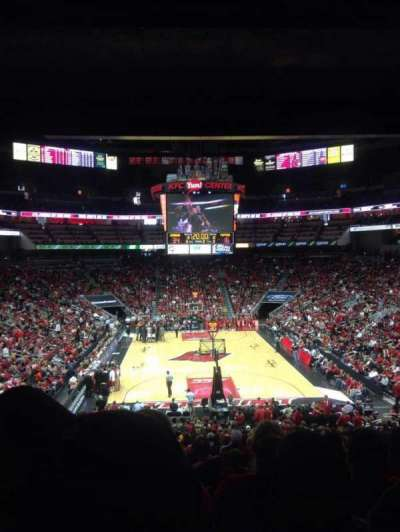 KFC Yum! Center, section: 111, row: HH , seat: 15
