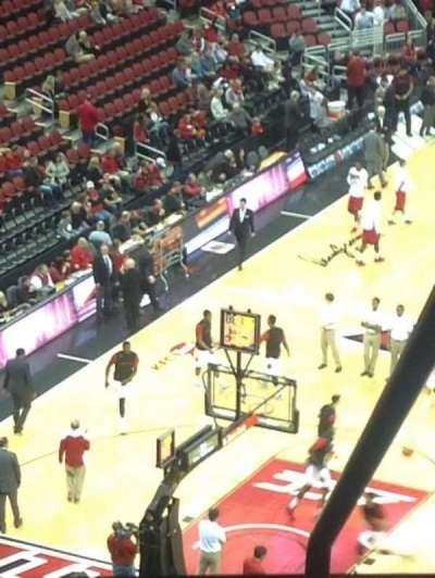 KFC Yum! Center, section: 313, row: UU, seat: 15