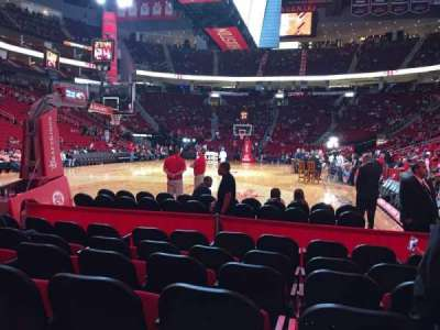 Toyota Center, section: 126, row: G, seat: 4