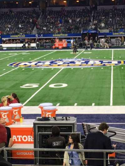 AT&T Stadium, section: C110, row: 5, seat: 12/13