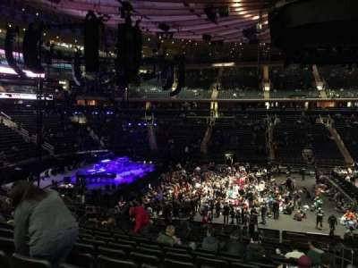 Madison Square Garden, section: 116, row: 22, seat: 18