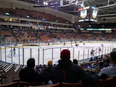 SNHU Arena, section: 111, row: N, seat: 4