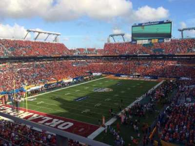 Hard Rock Stadium, section: 356, row: 1, seat: 22