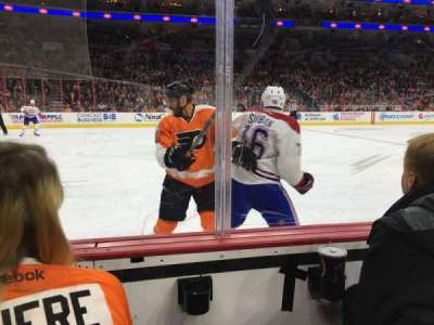 Wells Fargo Center, section: 123, row: 2, seat: 11