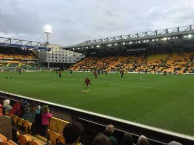 Carrow Road, section: Geoffrey Watling City Stand