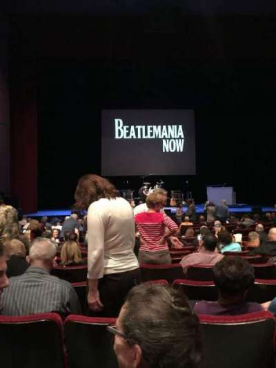 Bob Carr Theater, section: orchestra, row: KK, seat: 21
