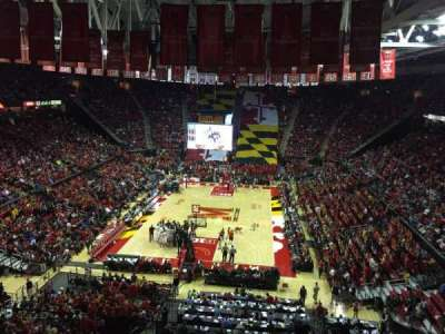 Xfinity Center (Maryland), section: 208, row: 5, seat: 10