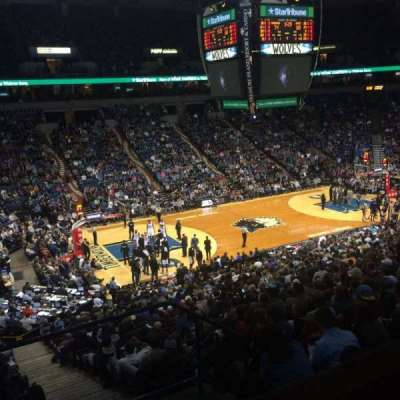 Target Center, section: Suite 57, seat: 13