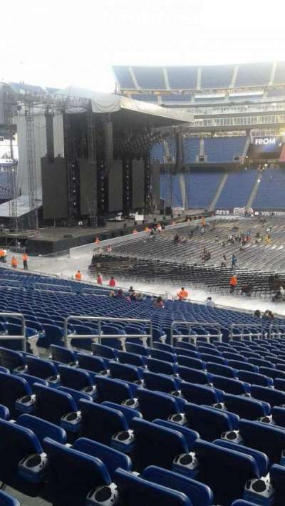 Gillette Stadium, section: 110, row: 30, seat: 15