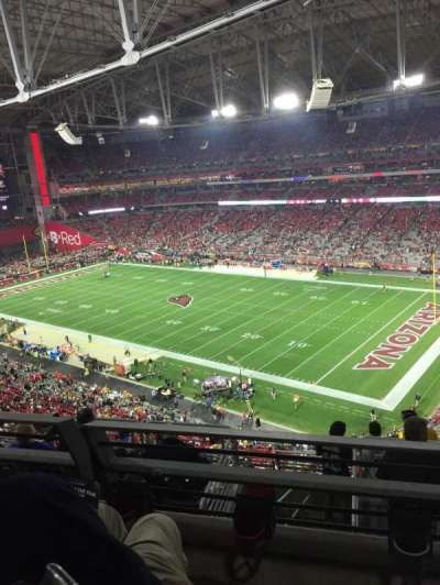 University of Phoenix Stadium, section: 436, row: 2, seat: 10