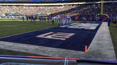 MetLife Stadium, section: 133, row: 1, seat: 5