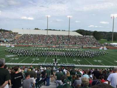 Peden Stadium, section: 104, row: 31, seat: 27