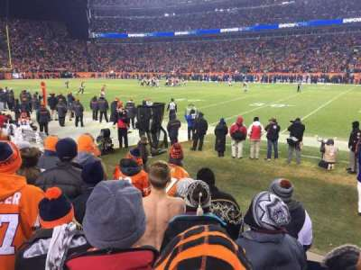 Sports Authority Field at Mile High, section: 121, row: 5, seat: 6