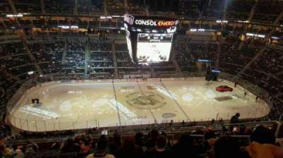 PPG Paints Arena, section: 204, row: M, seat: 5