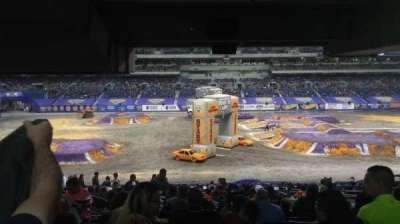 Alamodome, section: 135, row: 34, seat: 8