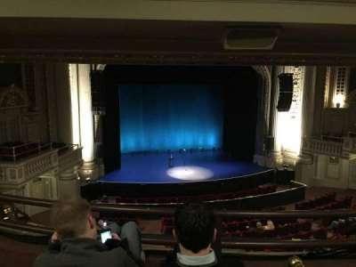 Majestic Theatre - Dallas, section: Mezzanine Box S, row: C, seat: 3