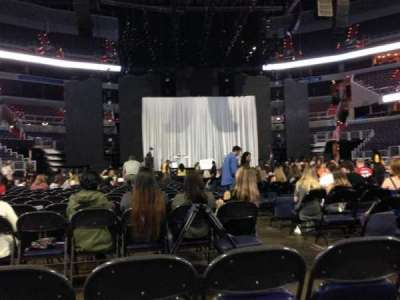 Capital One Arena, section: Floor 4, row: C, seat: 12
