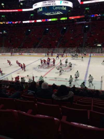 Centre Bell, section: 124, row: M, seat: 9