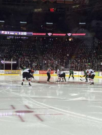 Scotiabank Saddledome, section: 113, row: 1, seat: 9