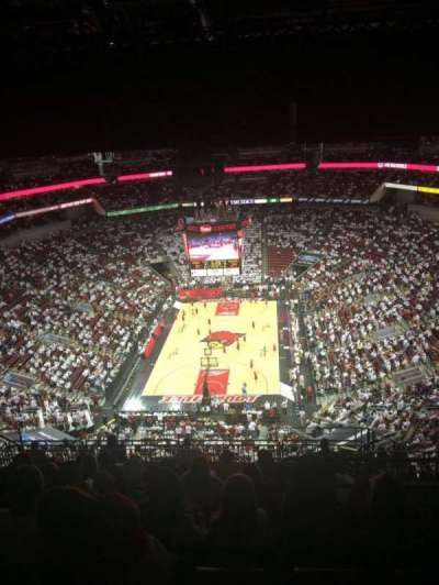 KFC Yum! Center, section: 329, row: R , seat: 4