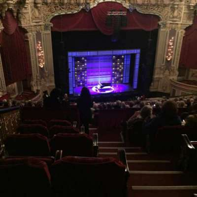 Oriental Theatre, section: Balc-L, row: S, seat: 353
