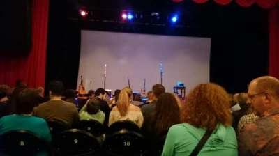 Ponte Vedra Concert Hall, row: J, seat: 10