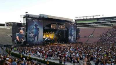Rose Bowl, section: 6-H, row: 19, seat: 106