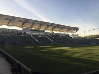 StubHub Center, section: 138, row: C, seat: 15