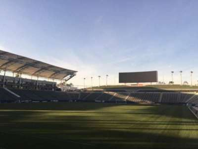 StubHub Center, section: 139, row: C, seat: 15