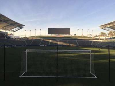 StubHub Center, section: 101, row: C, seat: 15