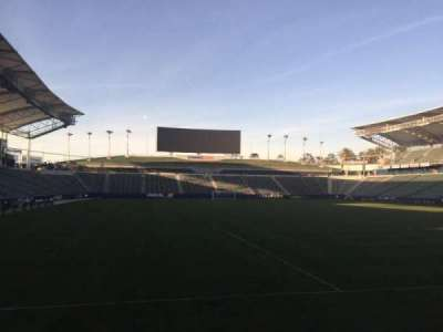 StubHub Center, section: 103, row: C, seat: 15
