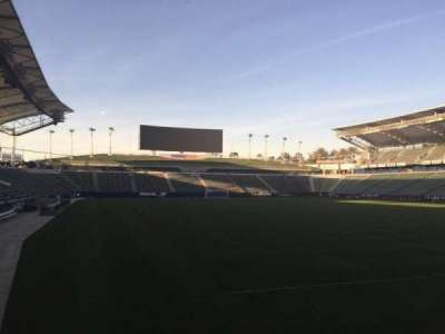 StubHub Center, section: 104, row: C, seat: 15