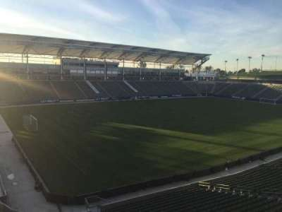 StubHub Center, section: 238, row: AA, seat: 15