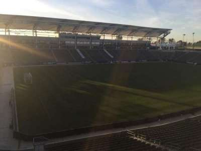 StubHub Center, section: 237, row: AA, seat: 15