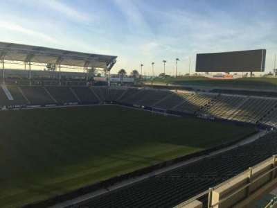 StubHub Center, section: 233, row: DD, seat: 15