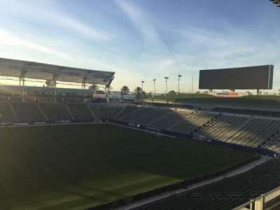 StubHub Center, section: 232, row: DD, seat: 15