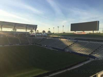 StubHub Center, section: 231, row: DD, seat: 15