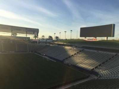 StubHub Center, section: 230, row: DD, seat: 15