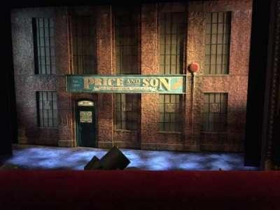 Al Hirschfeld Theatre, section: Mezzanine, row: A, seat: 104