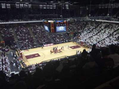 Reed Arena, section: 223, row: M, seat: 12