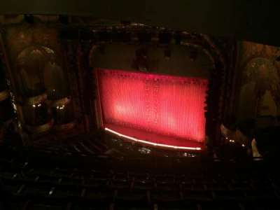 New Amsterdam Theatre, section: Balc Right