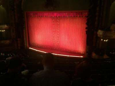 New Amsterdam Theatre, section: Mezz Right