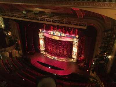 Walter Kerr Theatre, section: Balc Right, row: A, seat: 8