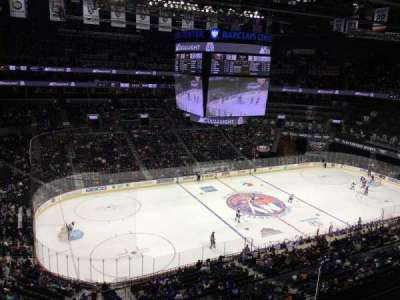 Barclays Center, section: 210, row: 2, seat: 18