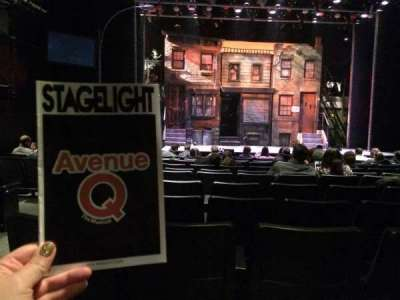 New World Stages - Stage 3, section: Orchestra, row: M, seat: 103