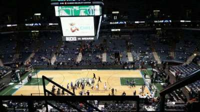 BMO Harris Bradley Center, section: 443, row: F, seat: 11